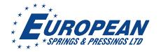 European Springs and Pressings Ltd Logo