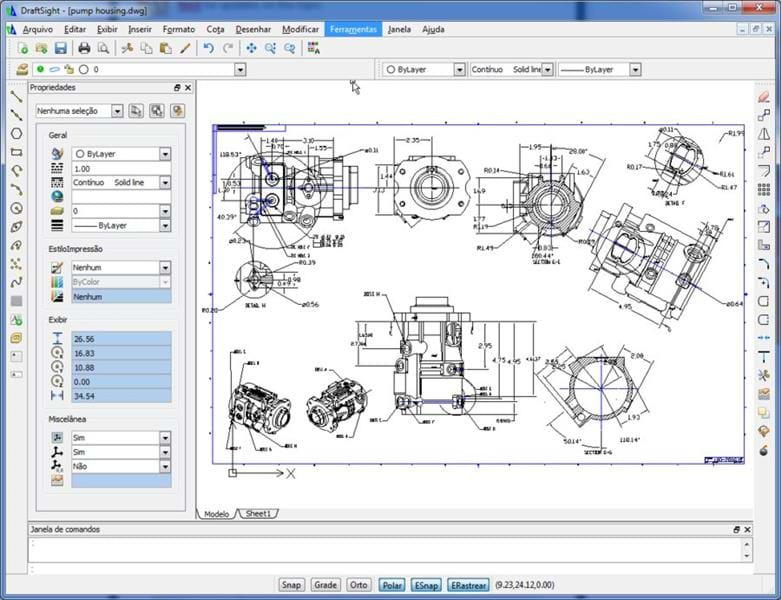 Draftsight free 2d dwg editor solid solutions for Online 2d drafting software