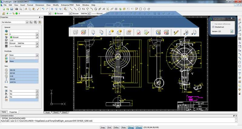 Draftsight free 2d dwg editor solid solutions Web cad software