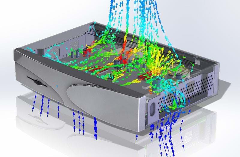 Computational Fluid Dynamics (Flow) SOLIDWORKS
