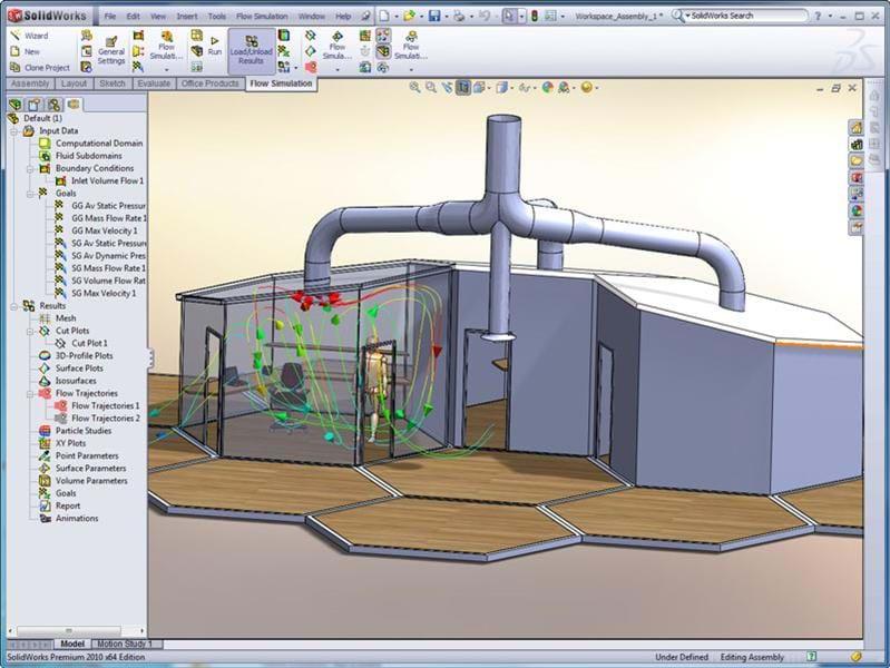 Flow Simulation - HVAC Module | Solid Solutions