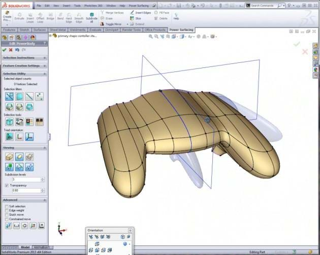 Power Surfacing - Advanced Surfacing for SOLIDWORKS