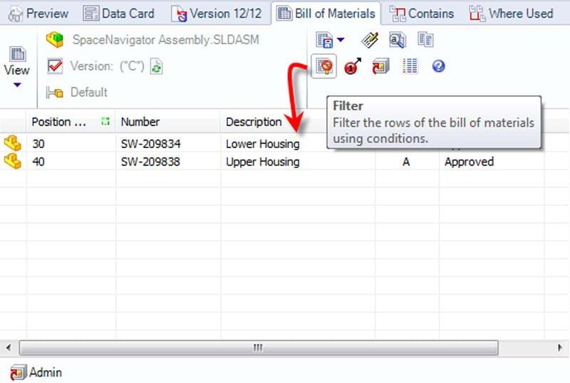 how to add bill of materials in solidworks