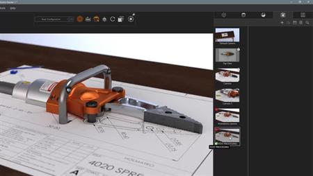 Using Adobe Photoshop with SOLIDWORKS Vizualise – PART 2