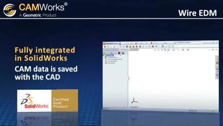 CAMWorks Wire EDM