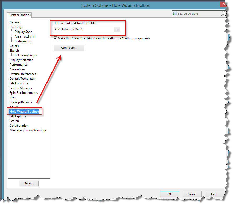 Clean out your SOLIDWORKS Data folders