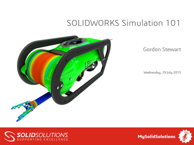 SOLIDWORKS Simulation 101