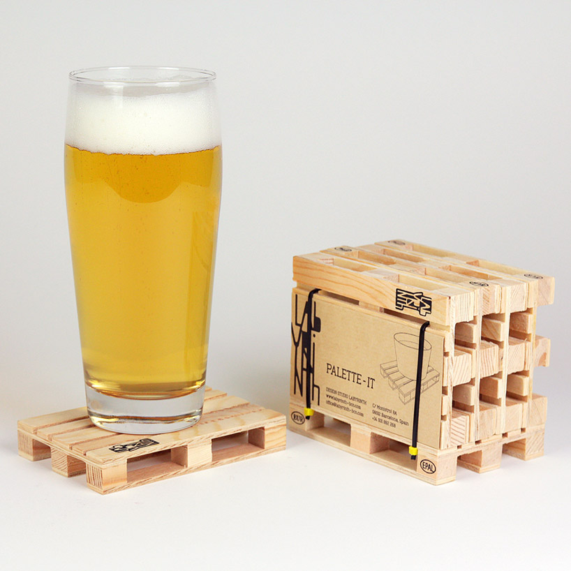 Palette Coaster for Engineers