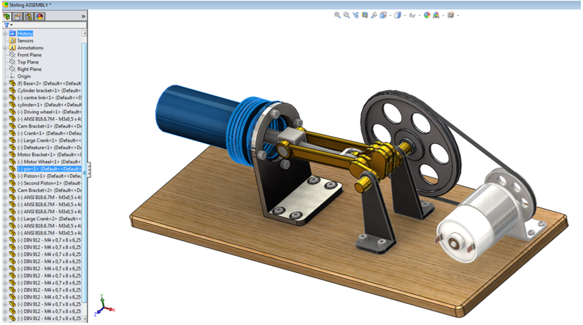 SOLIDWORKS Defeature Tool