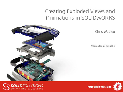 SOLIDWORKS Webcast - Animations