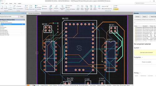 SOLIDWORKS-PCB-ELECTRICAL-CIRCUIT-BOARD
