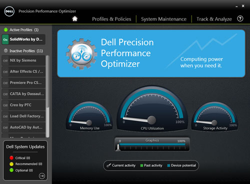 Dell Precision Optimiser