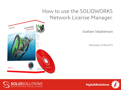 SOLIDWORKS Webcast
