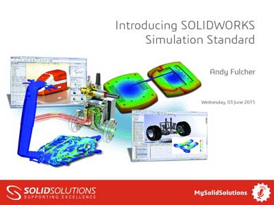 SOLIDWORKS Simulation Standard Webcast