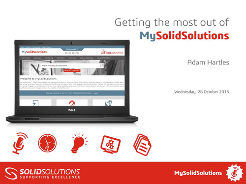 SOLIDWORKS Webcast- MySolidSolutions