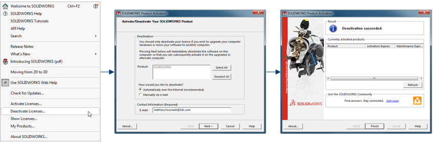 Tech Support Blog: Using SOLIDWORKS Online Licensing