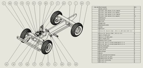 SOLIDWORKS Landrover Assembly
