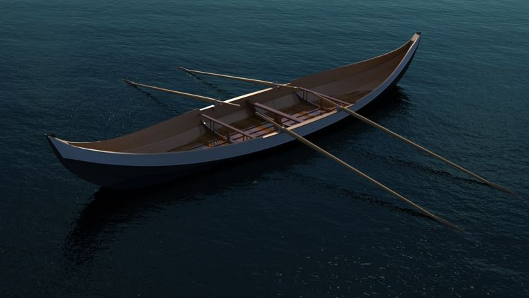 SOLIDWORKS Visualize Render Boat