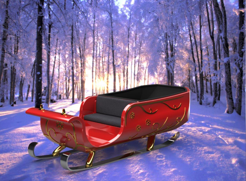 SOLIDWORKS Santas Sleigh Redesign