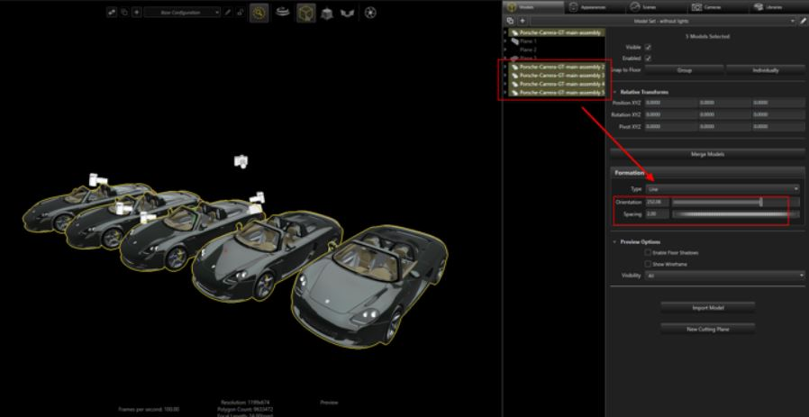 SOLIDWORKS Visualize Formation