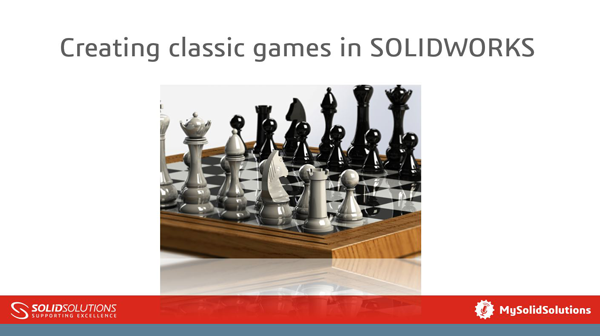 SOLIDWORKS Tutorial - Classic Games