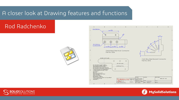 SOLIDWORKS Webcast Drawings