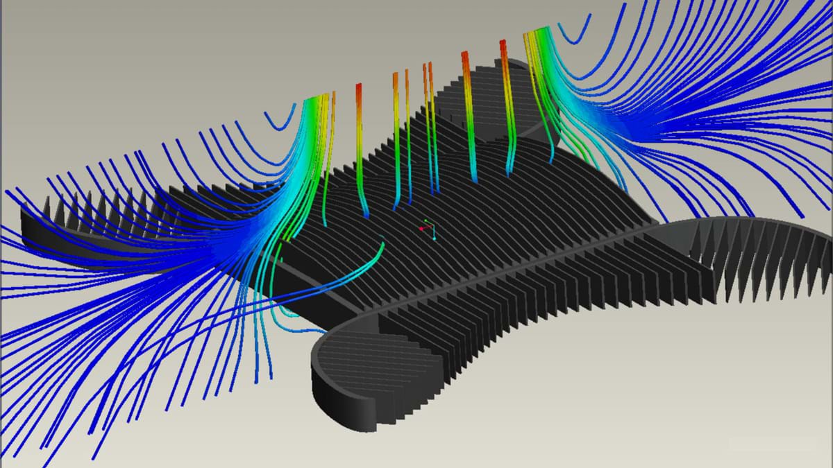 Quickly simulate fluid flow, heat transfer and fluid forces with SOLIDWORKS Flow Simulation