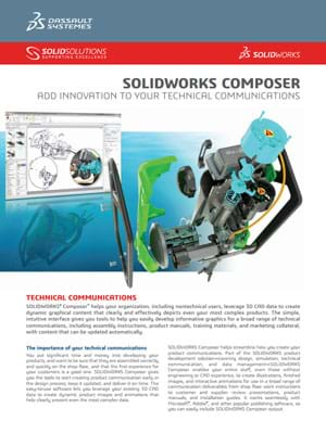 Download SOLIDWORKS Composer Data Sheet