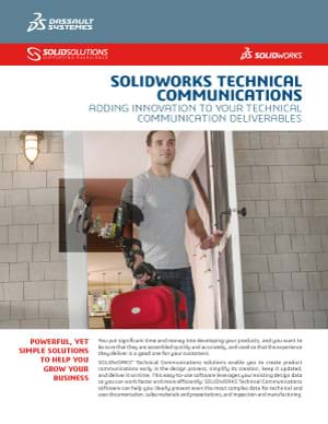 Download SOLIDWORKS Technical Communications Datasheet