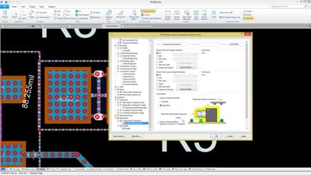 SOLIDWORKS PCB - Component Placement Rules