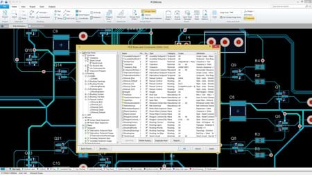 SOLIDWORKS PCB - Comprehensive Design Rule Checking