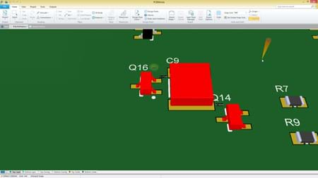 SOLIDWORKS PCB - Real-Time 3D Clearance Checking