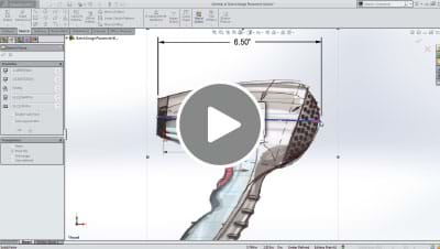 SOLIDWORKS 2014 What's New Video - Sketch Picture Scale Tool