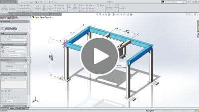 SOLIDWORKS 2014 What's New Video - Weldments and Parts