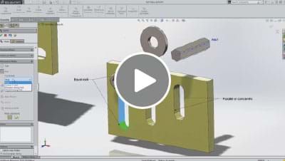 SOLIDWORKS 2014 What's New Video - Slot Mates