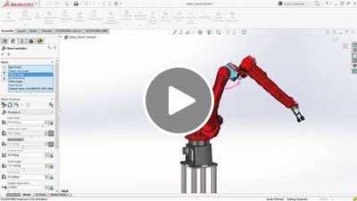 SOLIDWORKS 2016 What's New Video - Mate Controller