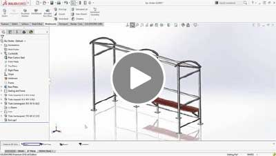 SOLIDWORKS 2016 What's New Video - Weldments