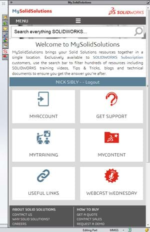 SOLIDWORKS Add In MySolidSolutions