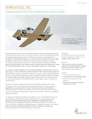SOLIDWORKS Aerospace Case Study Terrafugia