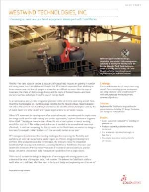 SOLIDWORKS Aerospace Case Study West Wind Technologies