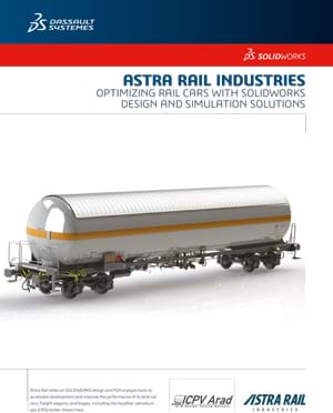 SOLIDWORKS Rail Case Study Astra Rail Industries