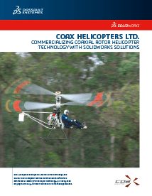 SOLIDWORKS Case Study Coax Helicopters