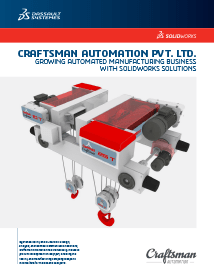 SOLIDWORKS Case Study Craftsman