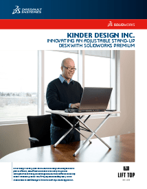 SOLIDWORKS Case Study Kinder Design