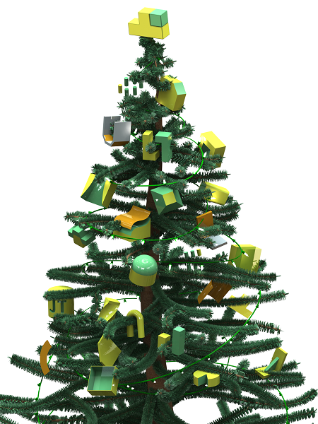 SOLIDWORKS Christmas Tree