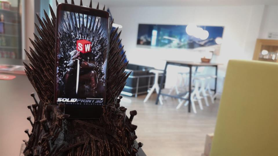 Printing the Iron Throne
