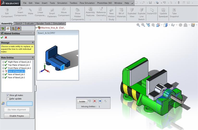 Replacing Components in Assemblies