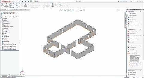 Advantages of Parametric CAD with SOLIDWORKS