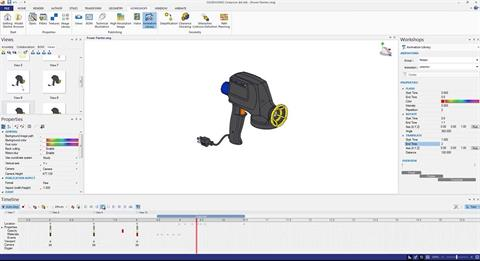 Automatic Animations With SOLIDWORKS Composer 2016