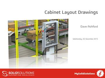 Cabinet Layout Drawings